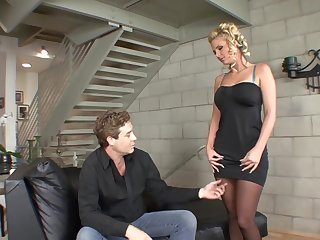 Phoenix Marie seduces a fellow with their way formidable anfractuosities