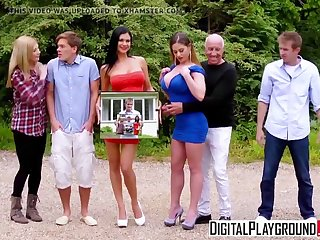 XXX Porn video - Synchronic Families