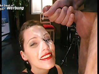 Interesting faces ruined with gobs of hot cumshots