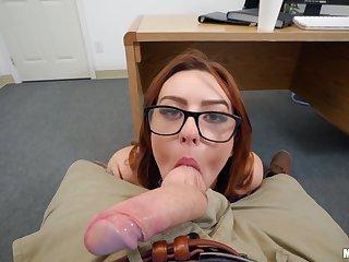 Juicy coed Scarlet Johnson gets pleasantly fucked to POV