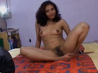 Real Indian girl masturbating anal toys, manfulness and pissing