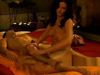 Prostate Massage Plus gentleman relaxes