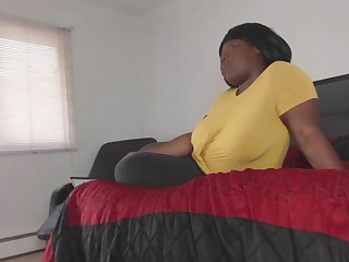 Cheating BBW Housewife Fucks Cable Guy Measurement Husband is Away