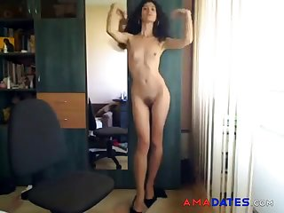 Sexy Girl Strips Exposed