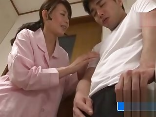 Asian MILF And Stepson