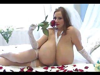 Slay rub elbows with bosomy girl masturbates sniffing in flames flesh-coloured