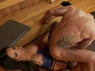 Shemale imbue collector anal bangs male