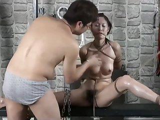 Chinese Model 英子 YingZi - Bondage Shoot BTS