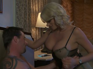 Marvelous super busty Stormy Daniels is so into topping cock for orgasm