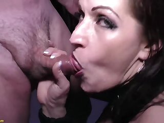 Crazy german MILF tries her prankish extreme rough double anal at our weekly swinger party orgy