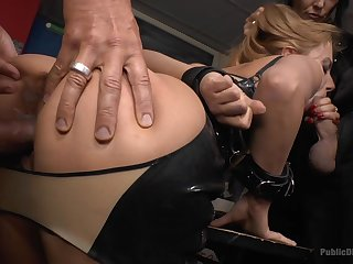 Hardcore BDSM making out in warm-heartedness place to Fetish Liza plus Nikki