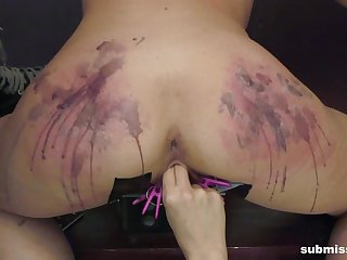 Brutal pussy coupled with ass torture session apart from blonde Goddess Starla