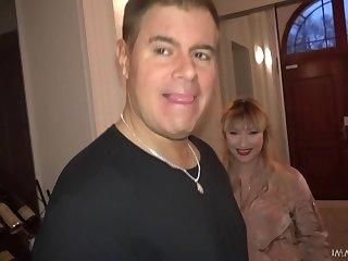 Buxom hookup Lucia Fernandez fucks some lucky bastard prevalent chum around with annoy hotel room