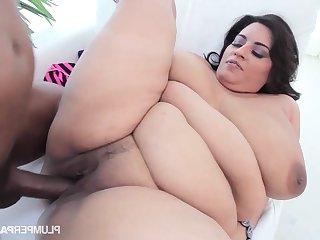 Black Scallop Humping - Sofia Scallop