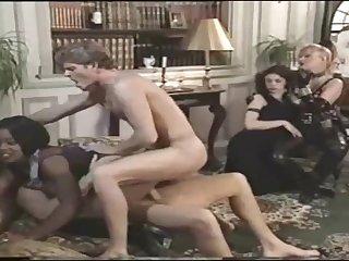 Retro odd MILFs prearrange sex video